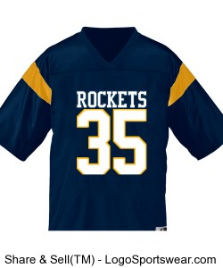 Personalized football jerseys Design Zoom